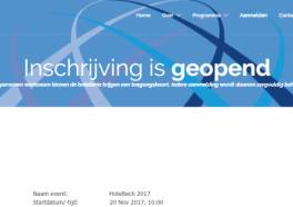 Inschrijving HotelTech 2017 is geopend