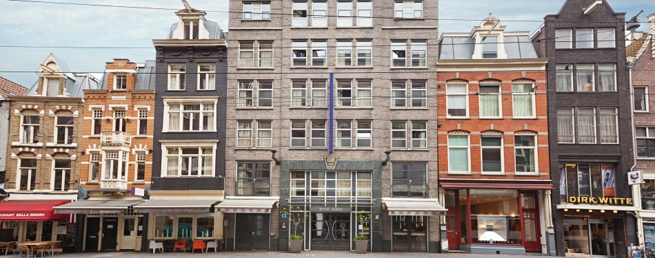 The Albus Amsterdam eerste CO2-neutrale hotel in Europa