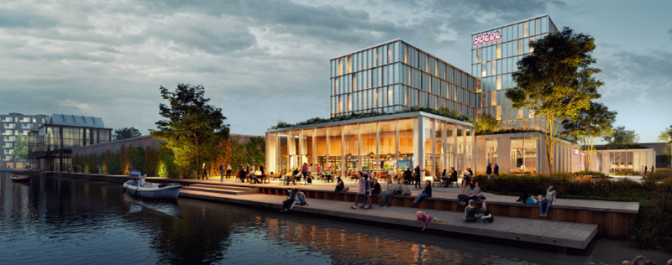 Being Development start de bouw van een duurzaam hotel in Amsterdam