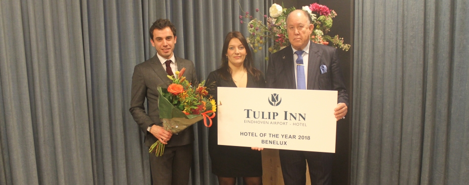 Golden Tulip Weert en Tulip Inn Eindhoven Airport winnaars Hotel of the Year 2018<