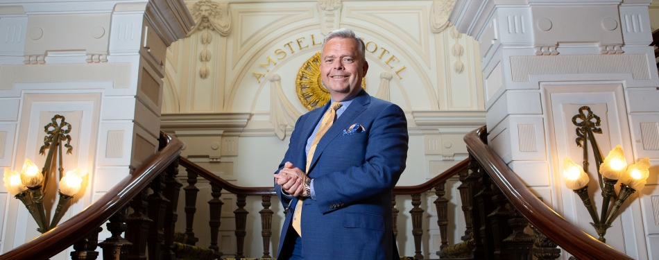 "Jan-Paul Kroese, Amstel Hotel: ""De concurrentie is heviger dan toen""<"